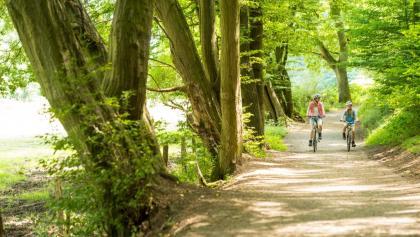 Radfahrer im Wurmtal