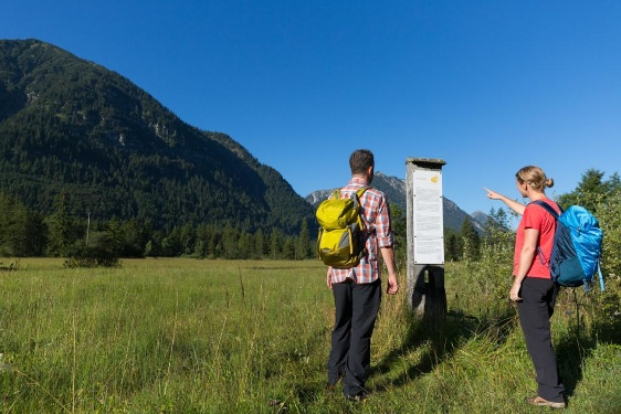 Ammergau Alps Meditation Trail: 13th Stage –  Ammer sources - St. Gertrude's Chapel