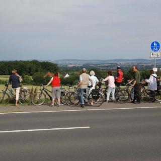 Blick auf das Ravensberger Hügelland