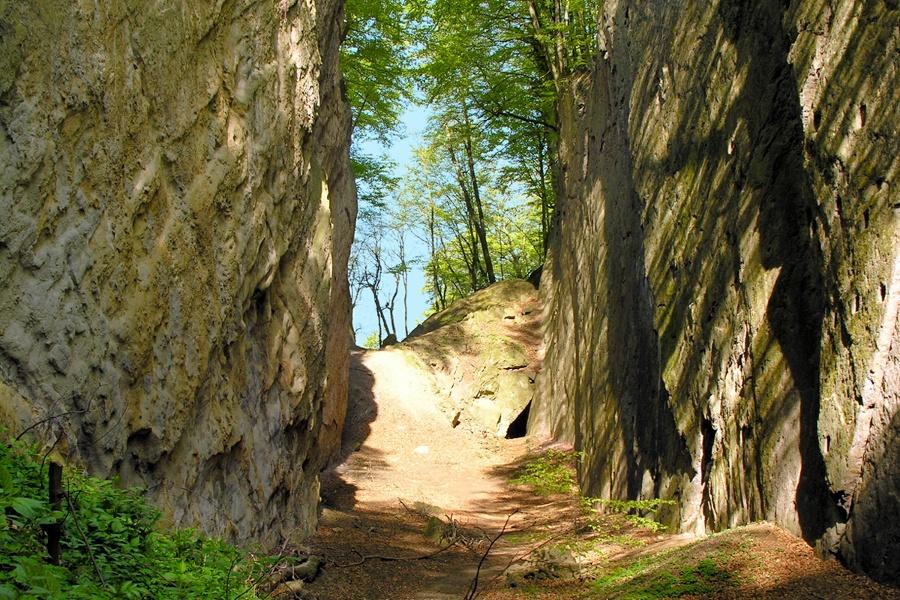 Wandern von Neubeuern aus - Rundweg um den Neubeurer Schlossberg - Wolfsschlucht