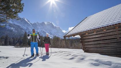 Schneeschuhwandern im Zugspitzland