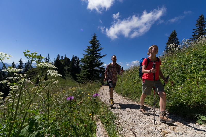 Ettaler Mandl Klettersteig : Bergtour ettaler manndl ammergauer alpen