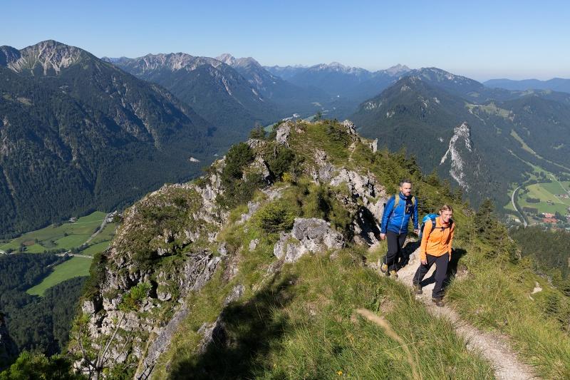 Klettersteig Am Ettaler Mandl : Bergtour laber ammergauer alpen