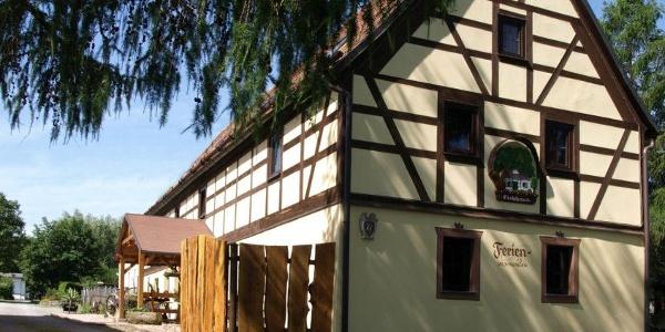 Außenansicht Ferienwohnungen im Eichhaus