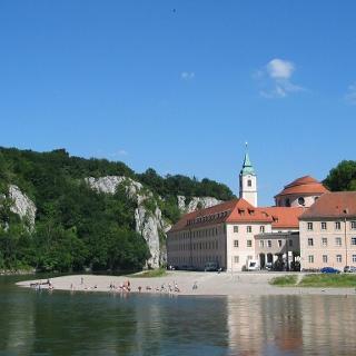 Kloster Weltenburg in der Weltenburger Enge