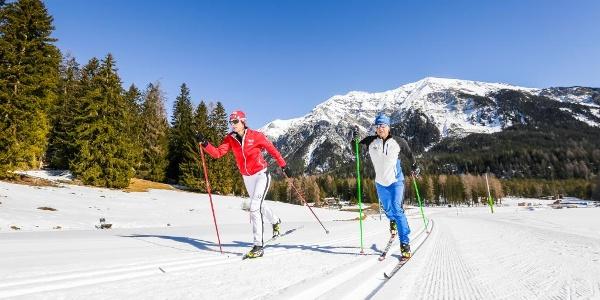 Bual Runde in der Biathlon Arena Lenzerheide