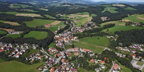 Ortsbild Zöbern