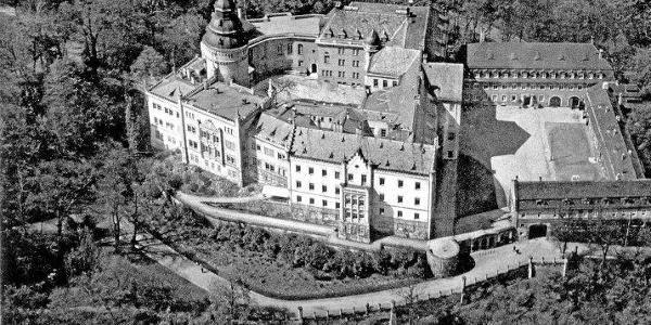 Fliegeraufnahme der Wehrmacht 1934 - Schloss Osterstein - Gera