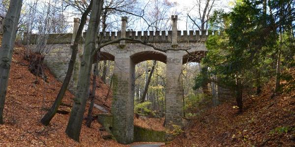 Wolfsbrücke - Schloss Osterstein - Gera