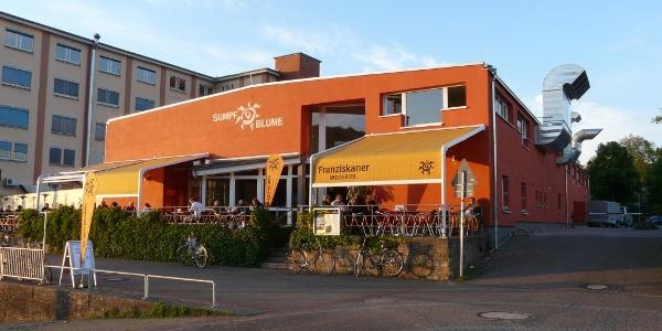 Cafe Sumpfblume an der Weser-Promenade