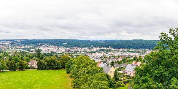 Blick vom Ferberturm - Gera