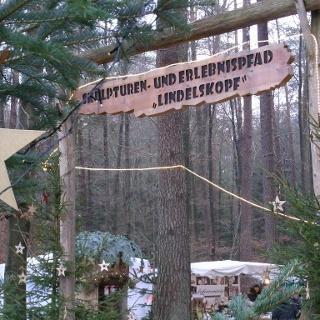 Zum Eingang Skulpturen- und Erlebnispfad