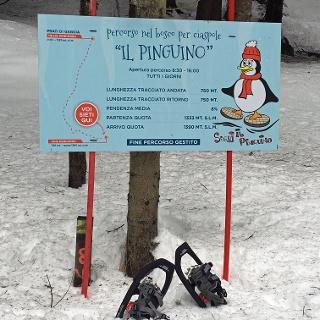 Il Pinguino - Beschilderung