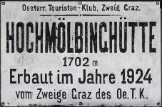 Hochmölbinghütte Logo