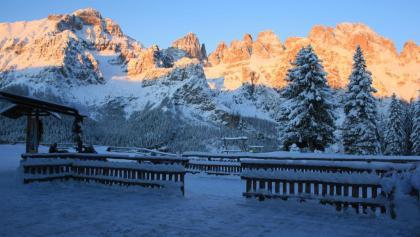 Le Dolomiti di Brenta dal rifugio La Montanara