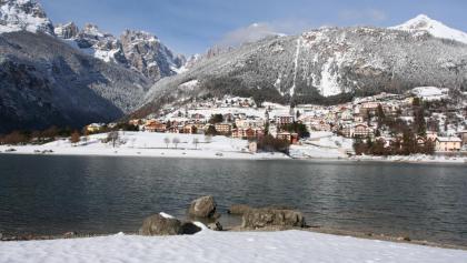 Panorama di Molveno e delle Dolomiti di Brenta