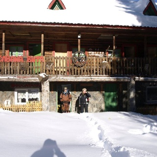 Cabana Buta in Winter