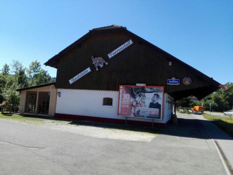 Gaststätte Farrenstall in Oberrot  - @ Autor: Beate Philipp  - © Quelle: Farrenstall