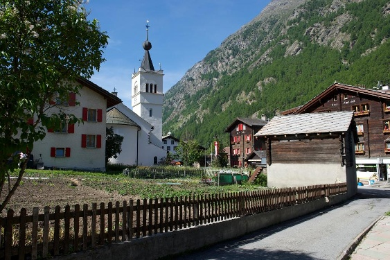 Village Centre of Täsch
