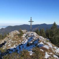 Gipfelkreuz Schönleitenschrofen