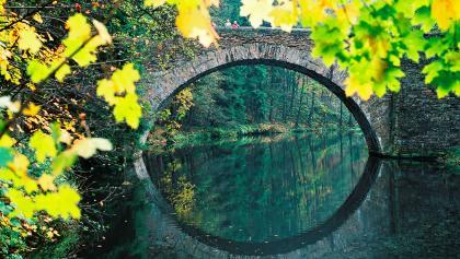 Zschopaubrücke unterhalb der Wolkensteiner Schweiz