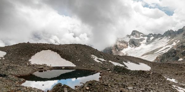 Gletschersee am Litzner Sattel
