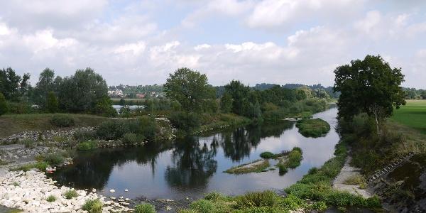 Erbacher Seenrunde - Donau bei Erbach