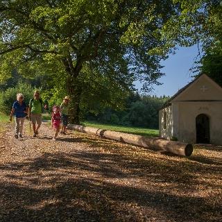 Iller-Auwald-Tour - Kapelle