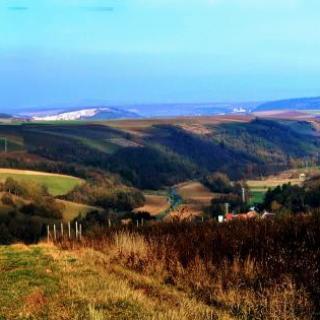Blick zum Eichelberg und Appelbachtal