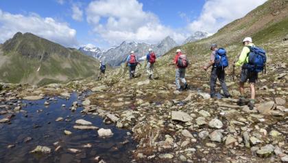 Bergwandern im Defereggen