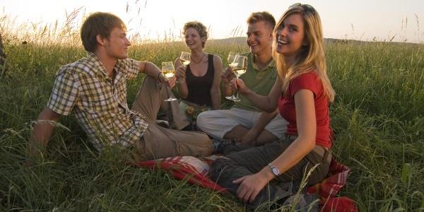 Picknick auf dem Kieselberg