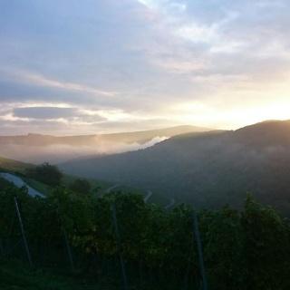 Sonnenaufgang über Oberheimbach