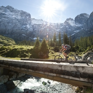 Brunnital-Bike-Tour: Biken unter der Ruchen-Nordwand - ein besonderes Erlebnis!