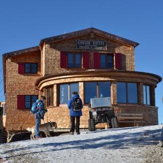 Renovierte Ostlerhütte