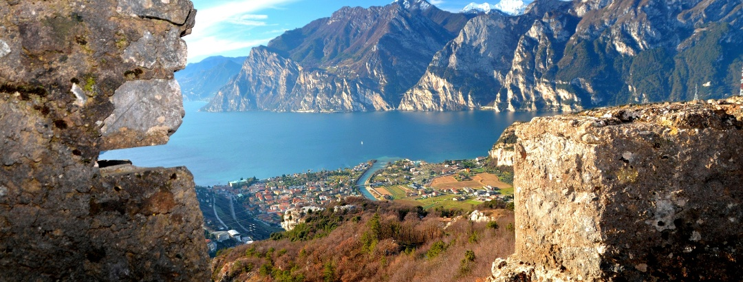 Panorama dal Monte Corno - Trincee Grande Guerra