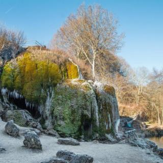 Attraktionen dieser Wanderung: Der Wasserfall von Dreimühlen im Ahbachtal nahe Ahütte, …