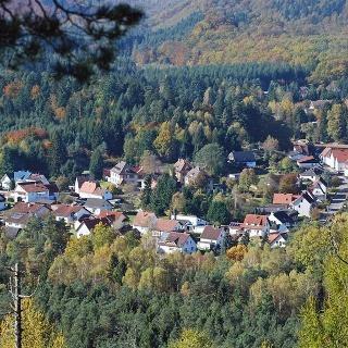 Blick vom Lindelskopf auf Ludwigswinkel