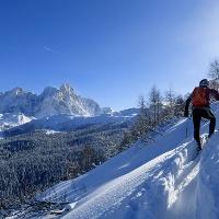 Die schöne Aussicht auf der Pale di San Martino
