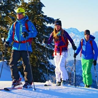 Skitourenlehrpfad Dienten