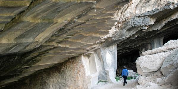 Oolite quarry in Bosco Caproni
