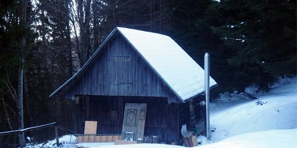 Jagdhütte Toif, ca. 994m