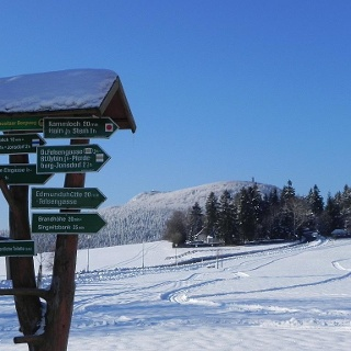 Lückendorf Skiwanderweg am Hochwald