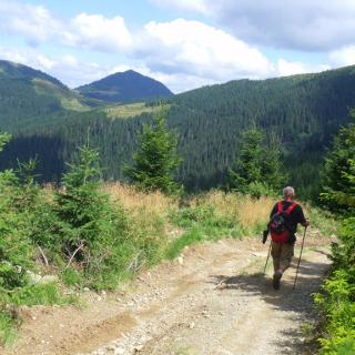 Grenzsträsschen 1500 m, hinten Petrocyl 1780 m, 11.58 h