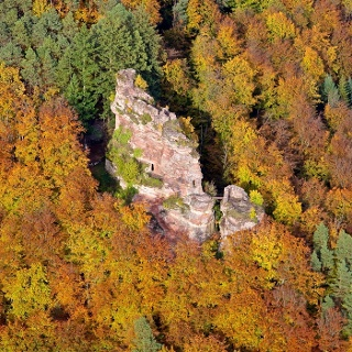 Burgruine Froensburg/F