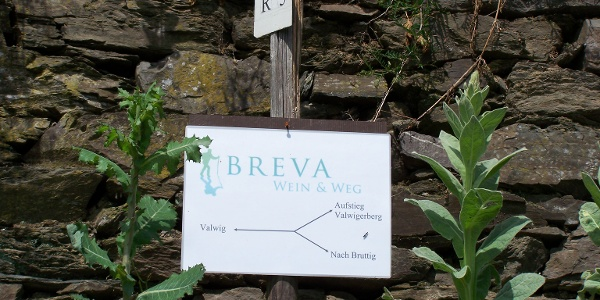 Wandern auf dem BREVA