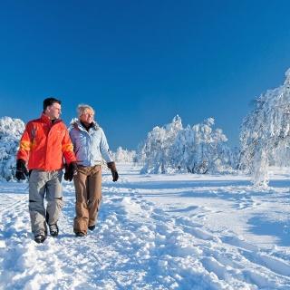 Winterwanderung im Schmallenberger Sauerland.