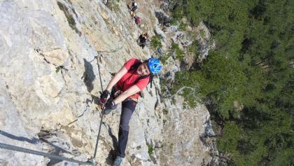 In der steilen Weningerwand