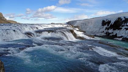 Gullfoss-Wasserfall