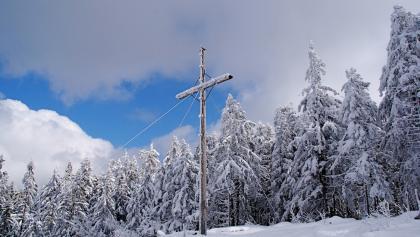 Käsplatte - Gipfelkreuz