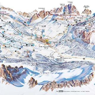 Pistenpanorama Cortina d'Ampezzo